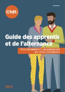 Affiche du guide des apprentis et de l'alternance